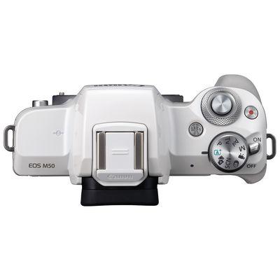 Für weitere Info hier klicken. Artikel: Canon EOS M50 Gehäuse weiß