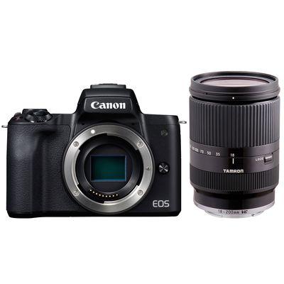 Für weitere Info hier klicken. Artikel: Canon EOS M50 + Tamron AF 3.5-6.3/18-200 Di III VC schwarz Canon EF-M