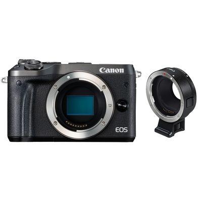Für weitere Info hier klicken. Artikel: Canon EOS M6 , Objektivadapter EF-EOS M schwarz