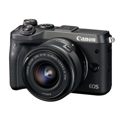 Für weitere Info hier klicken. Artikel: Canon EOS M6 Kit inkl. 3,5-6,3 / 15-45 mm IS STM schwarz