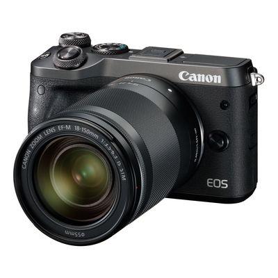 Für weitere Info hier klicken. Artikel: Canon EOS M6 Kit inkl. 3,5-6,3/18-150 mm IS STM schwarz
