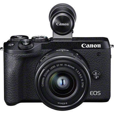 Für weitere Info hier klicken. Artikel: Canon EOS M6 Mark II + EF-M 15-45mm IS STM + EVF-DC2