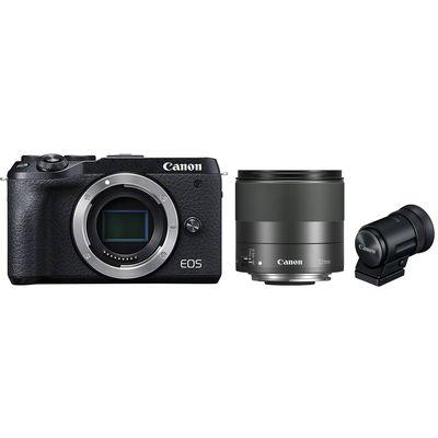 Für weitere Info hier klicken. Artikel: Canon EOS M6 Mark II + EF-M 32mm f/1,4 STM + EVF-DC2