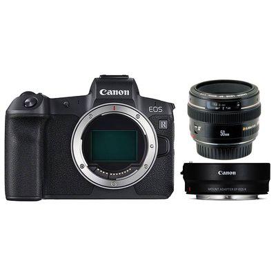 Für weitere Info hier klicken. Artikel: Canon EOS R + EF 50mm f/1,4 USM + Adapter EF-EOS R