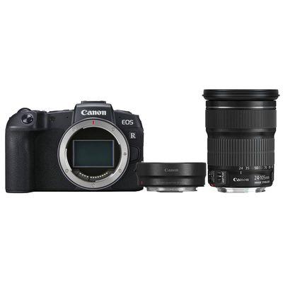 Für weitere Info hier klicken. Artikel: Canon EOS RP + EF 24-105mm f/3,5-5,6 IS STM + Adapter EF-EOS R Canon RF