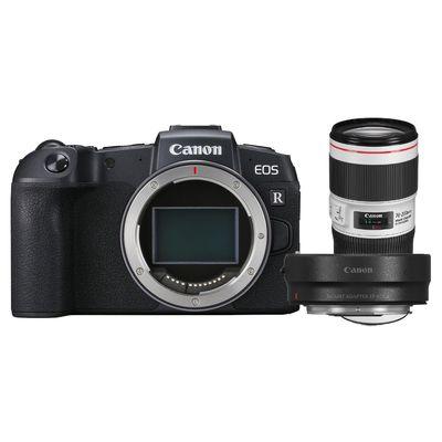 Für weitere Info hier klicken. Artikel: Canon EOS RP + EF 70-200mm f/4 L IS II USM + Adapter EF-EOS R CAnon RF