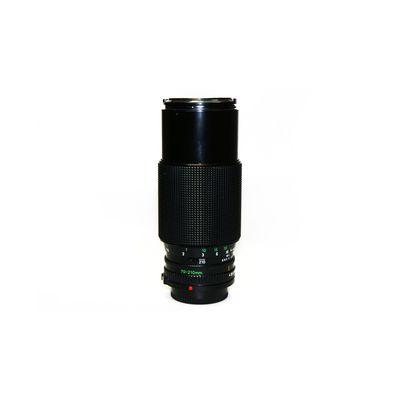 Für weitere Info hier klicken. Artikel: Canon FD 4,0/70-210 -G- Canon FD