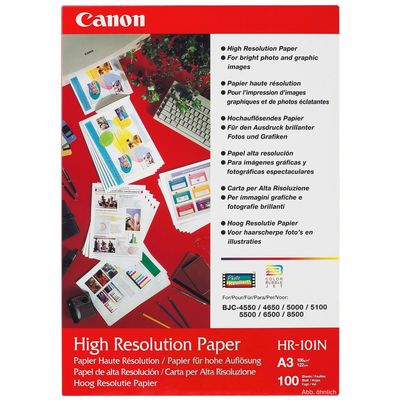 Für weitere Info hier klicken. Artikel: Canon HR-101 N A3 100 Blatt