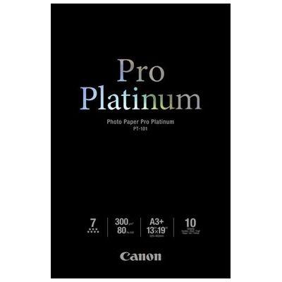 Für weitere Info hier klicken. Artikel: Canon Papier PT-101 A3+ 10 Blatt