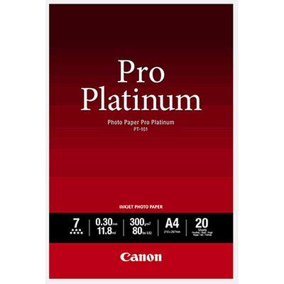 Für weitere Info hier klicken. Artikel: Canon Papier PT-101 A4 20 Blatt