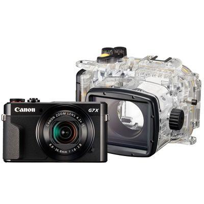 Für weitere Info hier klicken. Artikel: Canon PowerShot G7X Mark II + Unterwasser WP-DC 55 - Unterwasserset -