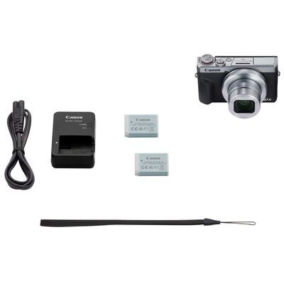 Für weitere Info hier klicken. Artikel: Canon PowerShot G7X MK III silber Battery Kit incl. Zusatzakku