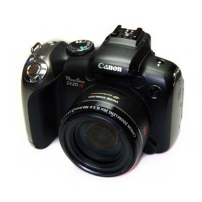 Für weitere Info hier klicken. Artikel: Canon Powershot SX20 IS -G-