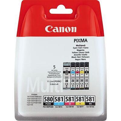 Für weitere Info hier klicken. Artikel: Canon Tinten Multipack PGI-580PGBK/CLI-581BK/C/M/Y
