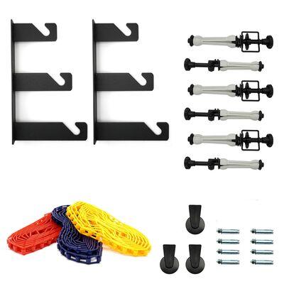 Für weitere Info hier klicken. Artikel: Caruba Aufhängungssystem für 3 Rollen Wand-/Wandmontage für 3 Rollen Wand-/Wandmontage