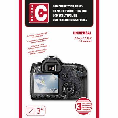"""Für weitere Info hier klicken. Artikel: Caruba LCD-Abdeckung Universal. 3,0"""""""""""