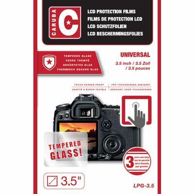 """Für weitere Info hier klicken. Artikel: Caruba LCD Optischer Glasschutz 3,5"""""""" (2 Stück)"""