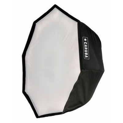 Für weitere Info hier klicken. Artikel: Caruba Quick Assembly Matte Zilver Round Softbox 120cm