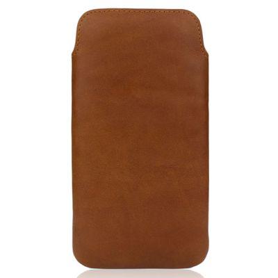 Für weitere Info hier klicken. Artikel: CASEual LeatherPouch für iPhone 6s braun