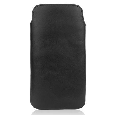 Für weitere Info hier klicken. Artikel: CASEual LeatherPouch für iPhone 6s schwarz