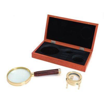 Für weitere Info hier klicken. Artikel: Celestron Ambassador Lupen-Set in hölzerner Geschenkbox