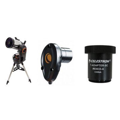 Für weitere Info hier klicken. Artikel: Celestron NexStar Evolution 6 + NexImage Farb-Kamera + T-Adapter für C6