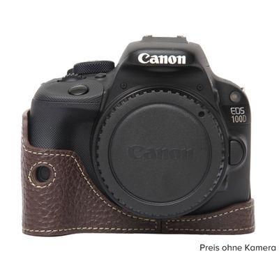 Für weitere Info hier klicken. Artikel: Ciesta Canon EOS 100D Kamerahülle dunkelbraun