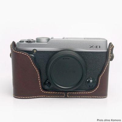 Für weitere Info hier klicken. Artikel: Ciesta Fujifilm X-E1/X-E2 Kamerahülle dunkelbraun