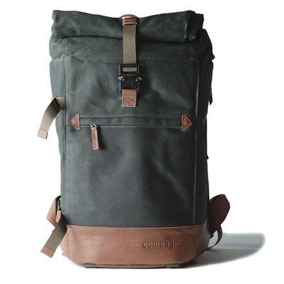 Für weitere Info hier klicken. Artikel: Compagnon Rucksack the backpack grün-braun