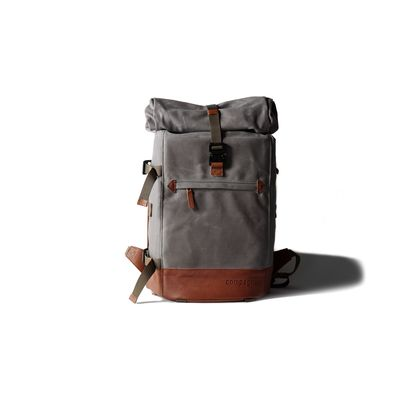 Für weitere Info hier klicken. Artikel: Compagnon the backpack grau-hellbraun