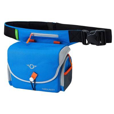 Für weitere Info hier klicken. Artikel: Cosyspeed Camslinger Outdoor Kameratasche mit Hüftgürtel für Systemkameras und kleine DSLR-Kameras blau
