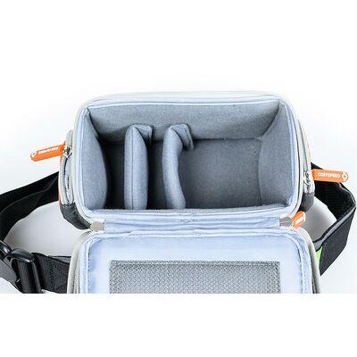 Für weitere Info hier klicken. Artikel: Cosyspeed Camslinger Outdoor Kameratasche mit Hüftgürtel für Systemkameras und kleine DSLR-Kameras Vers2 schwarz