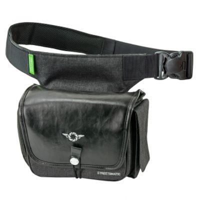 Für weitere Info hier klicken. Artikel: Cosyspeed Kameratasche mit Hüftgürtel Camslinger Streetomati (vegan) schwarz-grau