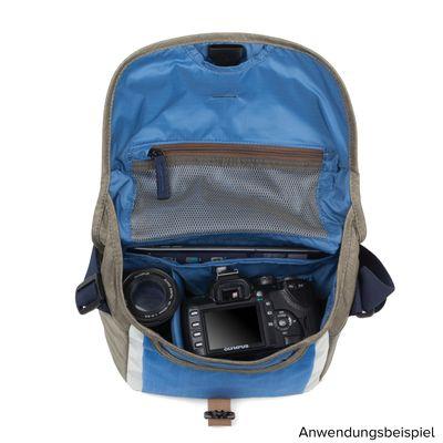 Für weitere Info hier klicken. Artikel: Crumpler Proper Roady 2.0 Camera Sling 2500 blue-warm grey