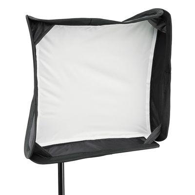 Für weitere Info hier klicken. Artikel: Cullmann CUlight Softbox-Kit inkl. Blitzgerätehalter 40x40 cm