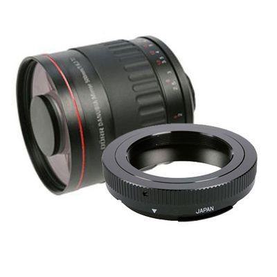 Für weitere Info hier klicken. Artikel: Danubia Spiegel-Tele 500mm f/6,3 Sony A-Mount Vollformat