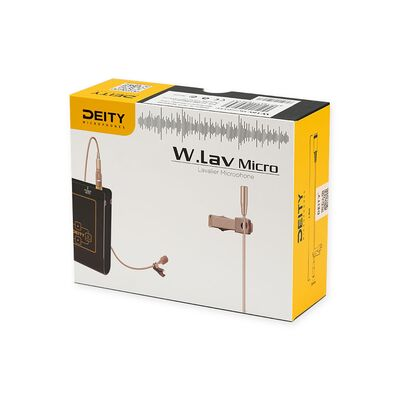 Für weitere Info hier klicken. Artikel: Deity W.Lav Micro Microphone beige DA5