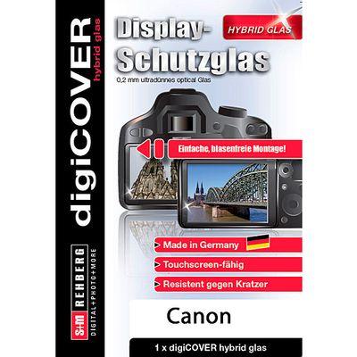 Für weitere Info hier klicken. Artikel: digiCOVER hybrid glas für Canon EOS 70D / 77D