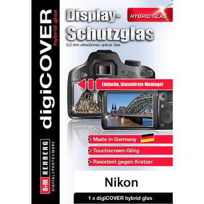 Für weitere Info hier klicken. Artikel: digiCOVER hybrid glas für Nikon D3200 / D3300 / D3400