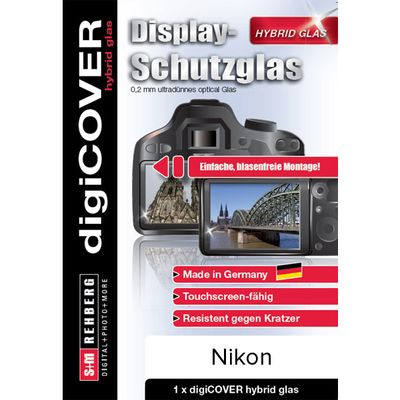 Für weitere Info hier klicken. Artikel: digiCOVER hybrid glas für Nikon D7200