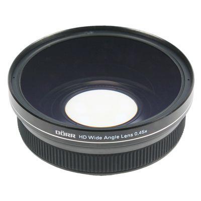 Für weitere Info hier klicken. Artikel: Dörr DÖRR HD Weitwinkelvorsatz 0,45x für Systemkameras 40,5mm