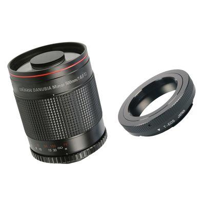Für weitere Info hier klicken. Artikel: Dörr Spiegel-Tele 500mm f/8,0 mit T2 Adapter Sony A-Mount Vollformat
