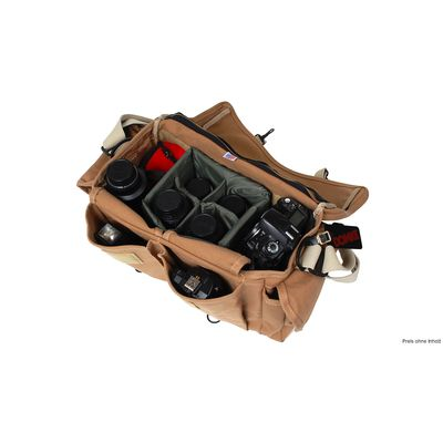 Für weitere Info hier klicken. Artikel: Domke Tasche F1 canvas sand