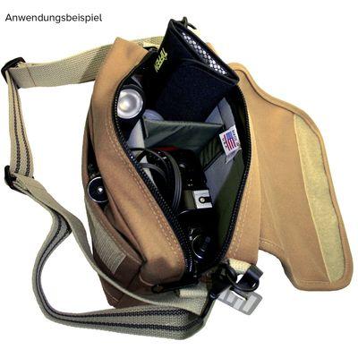 Für weitere Info hier klicken. Artikel: Domke Tasche F5XB canvas sand