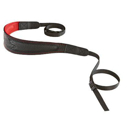 Für weitere Info hier klicken. Artikel: EDDYCAM 60mm Elchleder Kameragurt FASHION-2- (M) schwarz-rot