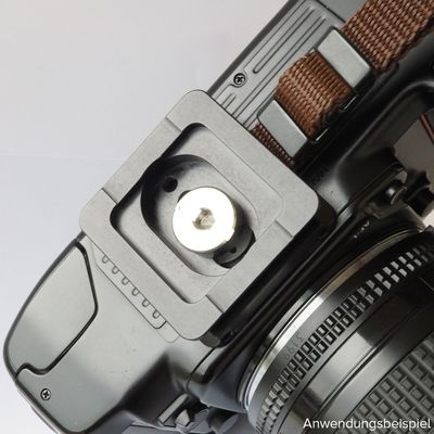 Für weitere Info hier klicken. Artikel: EDDYCAM SLING -2 L inkl. Platte schwarz