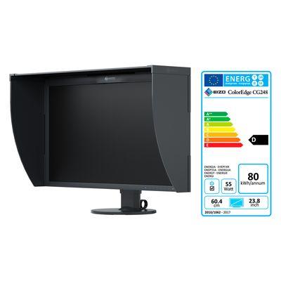 Für weitere Info hier klicken. Artikel: Eizo CG248-4K ColorEdge 4K UHD Grafikmonitor mit Lichtschutzblende schwarz
