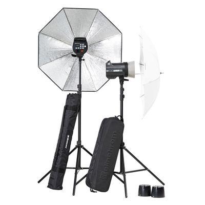 Für weitere Info hier klicken. Artikel: Elinchrom BRX 250/250 Umbrella to go Set