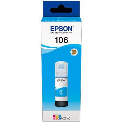 Für weitere Info hier klicken. Artikel: Epson EcoTank cyan T 106 70 ml T 00R2