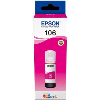 Für weitere Info hier klicken. Artikel: Epson EcoTank magenta T 106 70 ml T 00R3